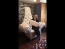 Шикарный трон со стразами