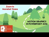 How to Create Zoom In Animated Scene in PowerPoint 2016 Tutorial The Teacher