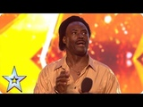 Donchez bags a GOLDEN BUZZER with his Wiggle and Wine! Auditions BGT 2018