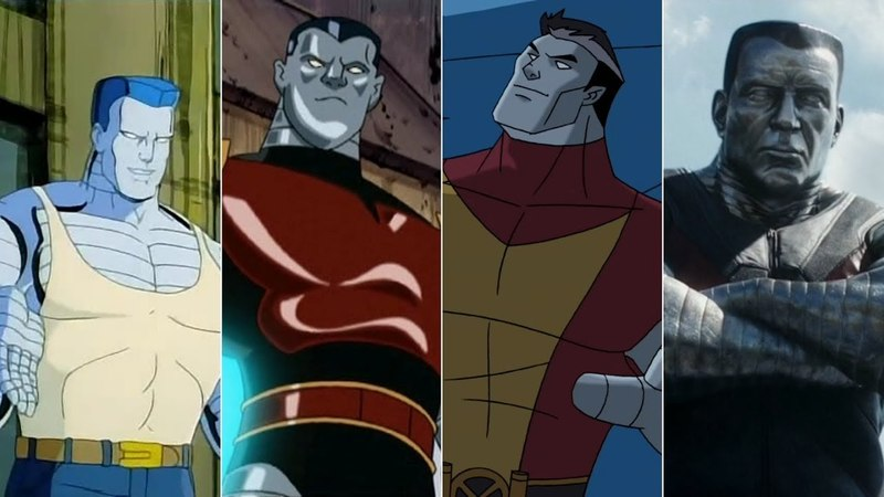 Эволюция Колосса в мультфильмах и кино/Evolution of Colossus in movies and cartoon