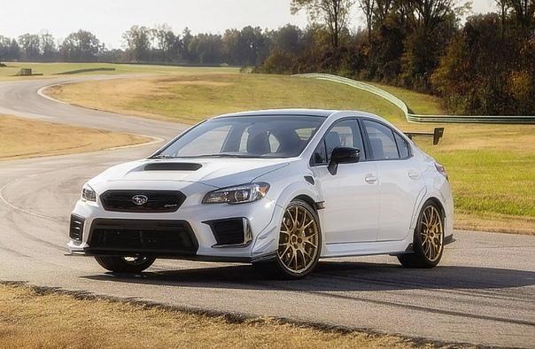Subaru выпустит 200 трековых WRX STI с 346-сильным мотором