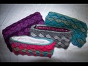 Crochet Lined Crocodile Stitch Clutch Tutorial