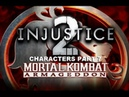 Mortal Kombat: Armageddon (K.A.F) - Injustice 2 characters - gameplay part 7