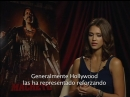 Machete Junket with Jessica Alba - Interview by Liliana Moyano