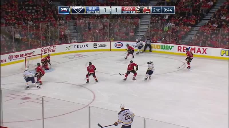 NHL Regular Season 2018 19 Buffalo Sabres Calgary Flames
