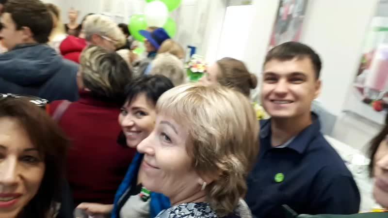 Открытие центра продаж компании Гербалайф в Новокузнецке!