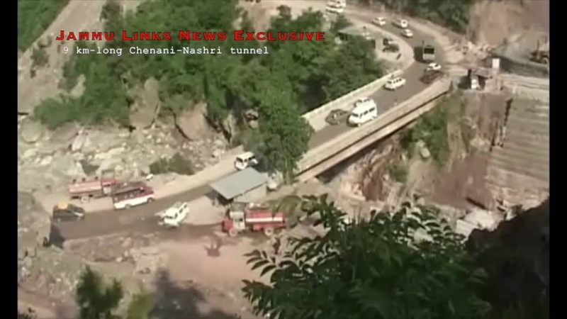 Так выглядил процесс стройки... Inside view of Chenani-Nashri tunnel