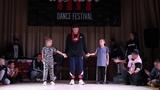 Hit The Floor vol.4 hip-hop kids final Beseda(win) vs Arti