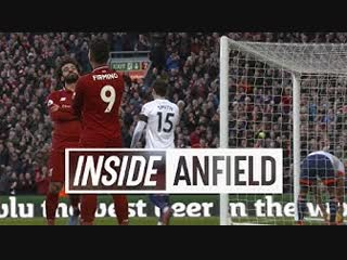 Inside anfield: liverpool − bournemouth | tunnel cam as the reds convincingly defeat bournemouth