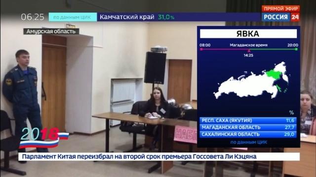 Новости на Россия 24 • В городе Циолковский открылся участок для сотрудников космодрома Восточный