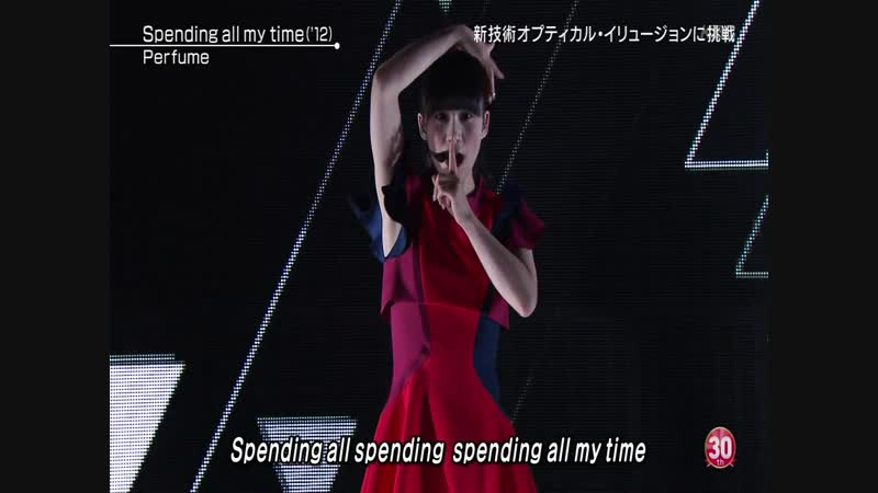 Perfume - Spending all my time Talk (MUSIC STATION Ultra FES 2016.09.19)