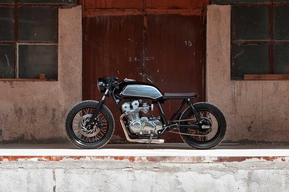 Thracian Custom Bikes: кафе рейсер Honda CB750 Four