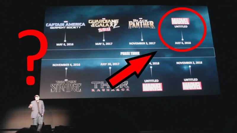 Marvel анонсируют новый супергеройский фильм