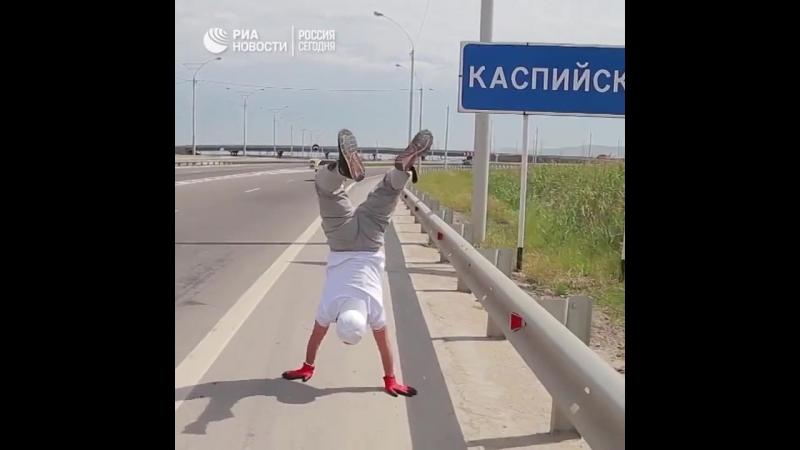 Дагестанский рукоход прошагал 10 км