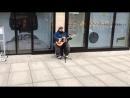 Уличный певец из Дрездена