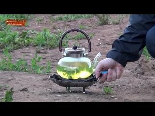 [Бабах-ТВ] Кипятим бензин в чайнике. Варим баллон от сифона