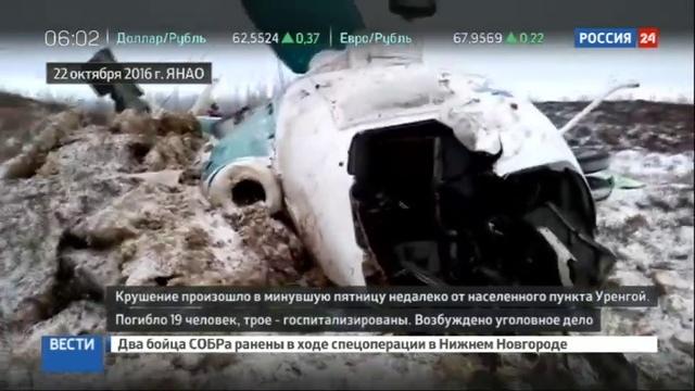Новости на Россия 24 • Катастрофа Ми-8 на Ямале: выживший пассажир дал показания