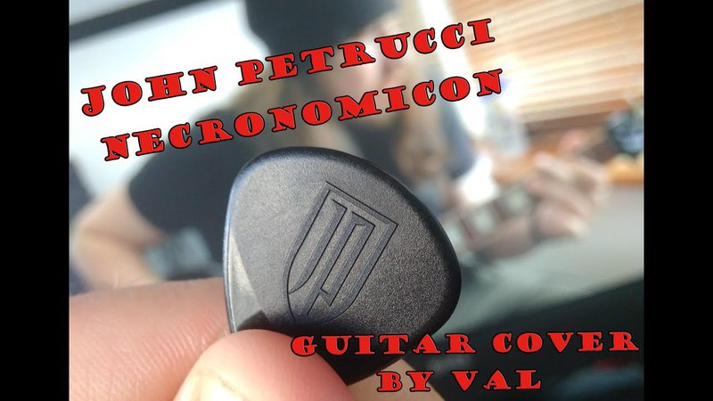 John Petrucci - Necronomicon guitar cover by Val (PedalZoo contest)
