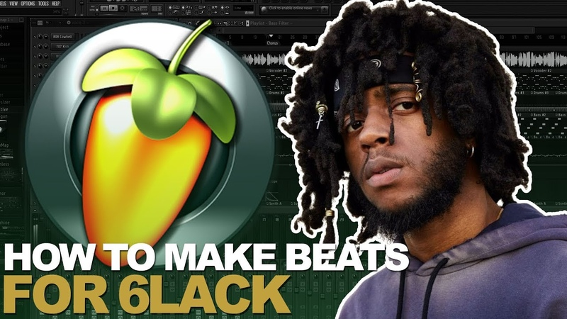IF I MADE A BEAT FOR 6LACK EAST ATLANTA LOVE LETTER FL STUDIO COOKUP