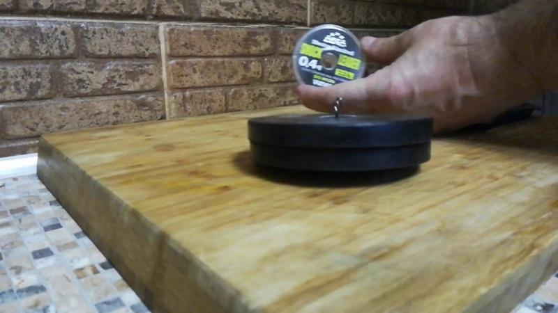Тест на разрыв: леска VARIVAS Trout Area Master Limited Shock Leader SVG Nylon 0,104мм 1,25кг
