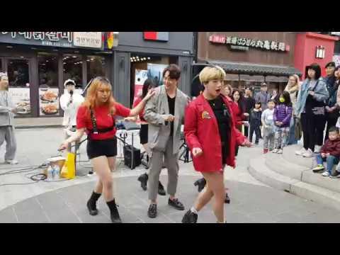 20190420 - 사회자를 정신놓게 만드는 깔끔한 비쥬얼의 댄스팀 레드크루(Red crew) - cover kill bill 홍