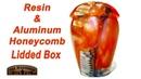 Woodturning Hybrid Resin and Aluminum