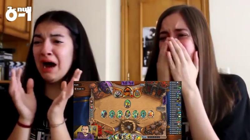 Fan girls react to kripps 0-3 arena