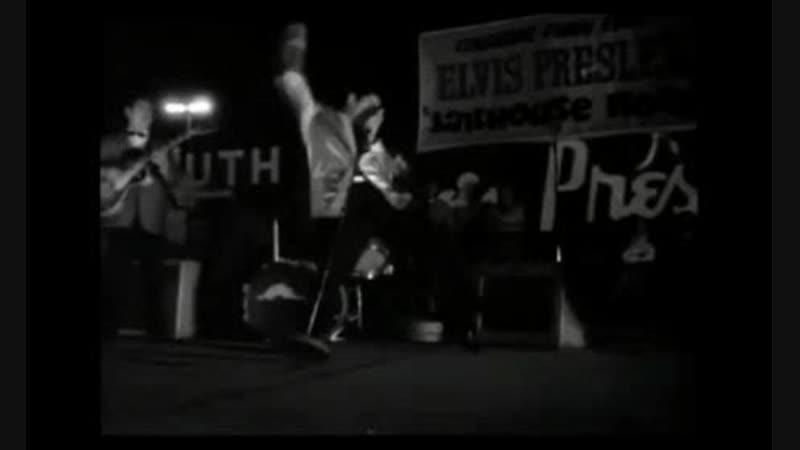 Элвис Пресли и Адриано Челентано в рок-н-рольном экстазе!