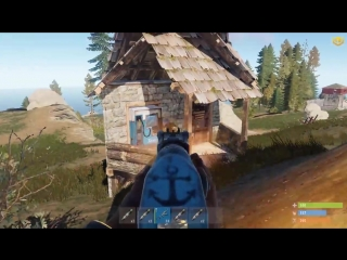 [CJIюHи] Rust - Рейд МВК крепости с подвалом. На грани срыва. CJIюHи