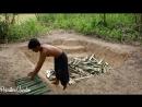 Primitive Wonder Build Underground Swimming Pool And Bamboo Pool Around Underground House