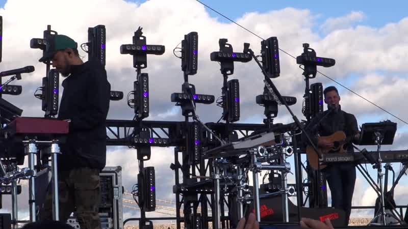 Mike Shinoda - SHARP EDGES - SOUND CHECK @ Pier 17, NYC [10_13_18]