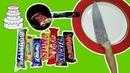 Сделал торт из SNIKERS Mars Twix KitKat Nuts Bounty