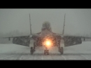 Летчики палубных истребителей Миг-29К отработали воздушный бой в сложных арктических метеоусловиях СФ