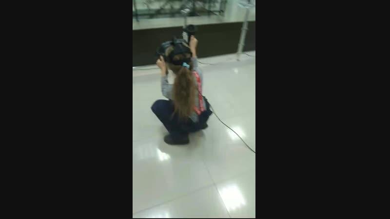 даже девочки любят стрелялки ТЦ Рио 2 этаж 🤯🔫👰😁