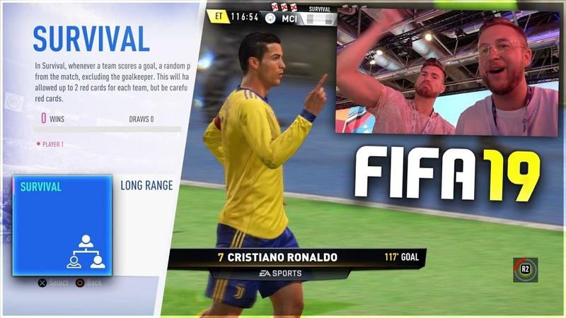 FIFA 19: SURVIVAL MODE Timo VS Simon KUSS BESTRAFUNG auf der GAMESCOM 🔥😱FULL GAMEPLAY !!