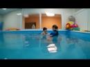 Отлично ныряет наш Даниил, 2 года. Купелька Абакан, Торговая 2а, 73902202102