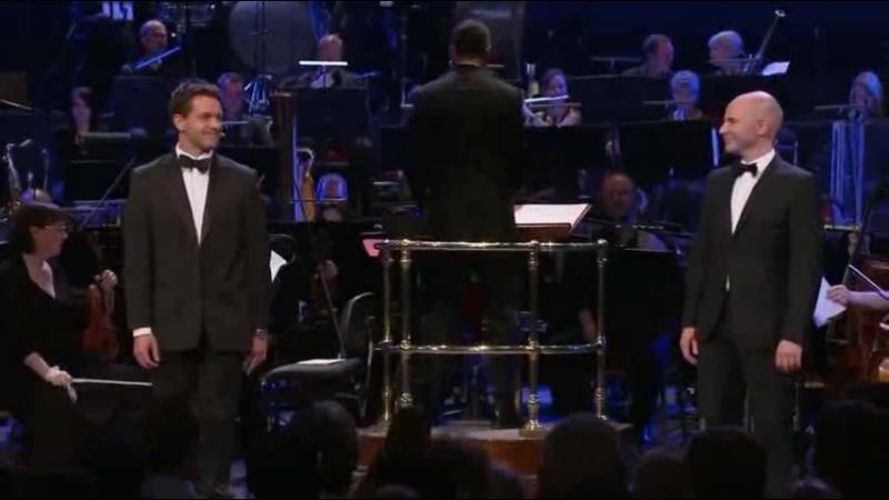 [rus sub] Julian Ovenden Daniel Evans – Agony (Proms 2010: Sondheim at 80)