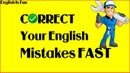 ✅Correct Your English Mistakes FAST | English Grammar Lesson (2019)