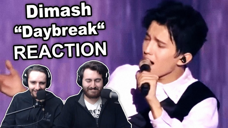 Dimash - Daybreak (LIVE at Bastau) Singers Reaction