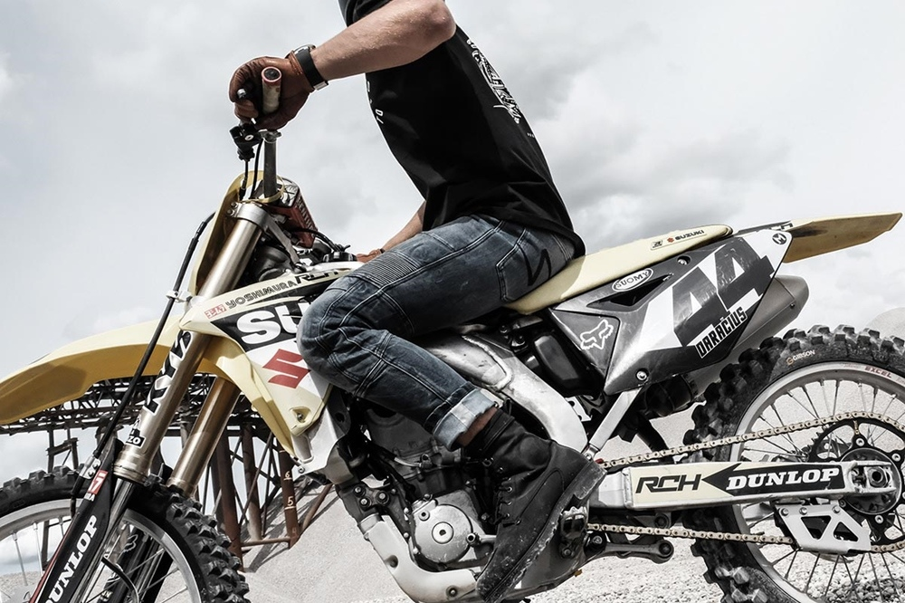 Pando Moto: мотоджинсы Karl Desert
