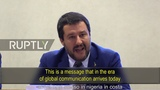Salvini reads the riot act on criminal migration to Italy - YouTube