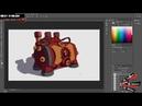 3D Боль или 3d художник рисует: Часть 3 - Предметики: Покрас