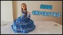 Vestido de Sissi Emperatriz a crochet para muñeca Nancy