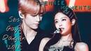 Jennie blackpink and Taehyung bts Sbs Gayo Daejun 2018 Taennie moments