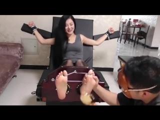 Chinese Girl Tickling 01