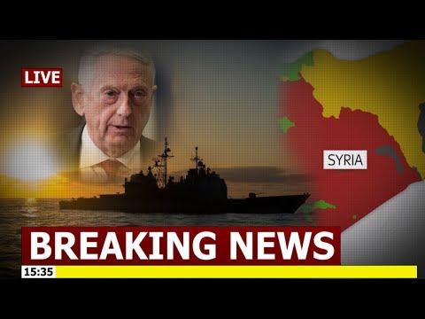 Breaking News Defense Secretary Jim Mattis Stands Ready Waiting President Trump's Order