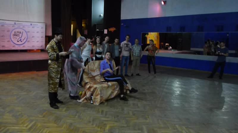 Выступление театральной Альфа труппы под руководством Марины Стуруа