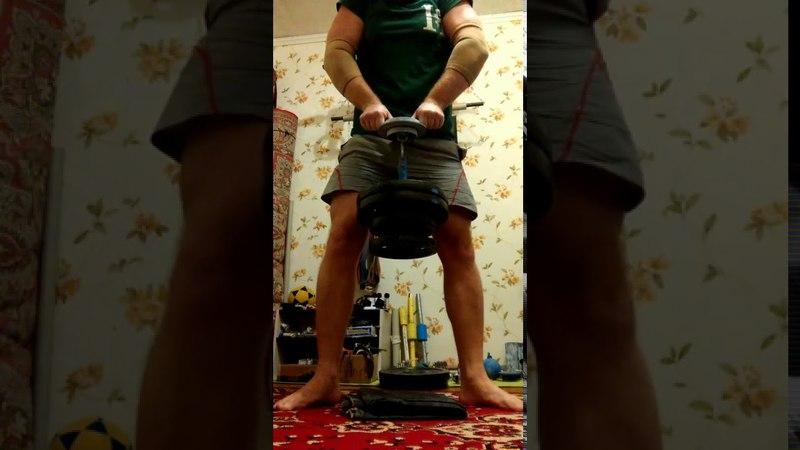Evgeny Nikitin CRAB FAT KEY HOLD 35 kg - 14 sec