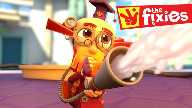 The Fixies ★ THE FIRE EXTINGUISHER MORE Full Episodes ★ Fixies English Cartoon For Kids