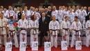 Сборная России празднует победу на Чемпионате мира по киокушинкай